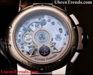 Ulysse Nardin Marine Chronograph Jahreskalender Uhr Hands-On