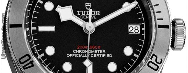 Tudor Heritage Black Bay Armbanduhr aus Stahl