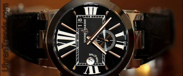 Ulysse Nardin Executive Dual Time Watch Review