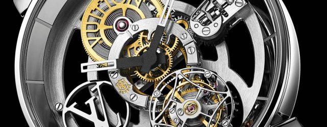 Louis Vuitton Tambour Mond Fliegender Tourbillon 'Poinçon De Genève' Uhr