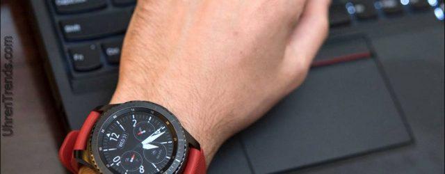 Samsung Gear S3 Smartwatch Review: Design + Funktionalität