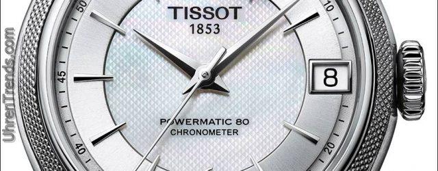Tissot Ballade-Uhr mit neuer Silikon-Balance-Feder
