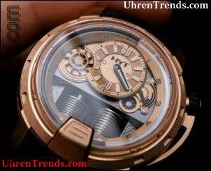 HYT H1 Vollgold Uhr Hands-On