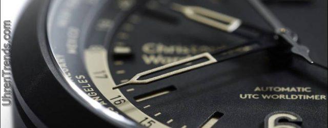 Christopher Ward C8 UTC Worldtimer Uhr