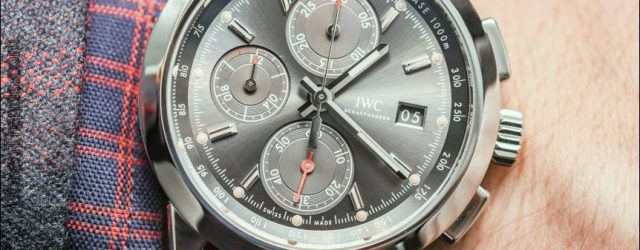 IWC Ingenieur Chronograph Special Edition Uhren Hands-On