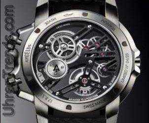 Angelus U50 Taucher Tourbillon Uhr