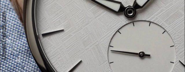 Parmigiani Fleurier Tonda 1950 Meteorit Weiß Uhr Hands-On