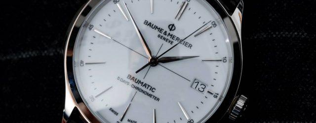 Baume & Mercier Clifton Baumatic 5 Tage Watch Hands-On & Warum diese neue mechanische Bewegung von Bedeutung ist