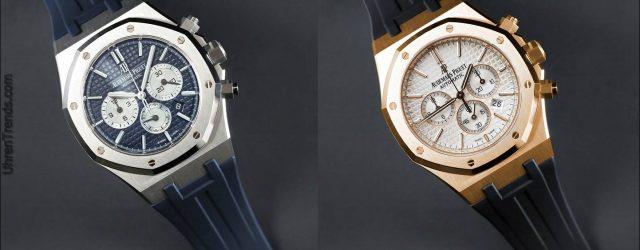 Gummi B integrierte Bügel für Audemars Piguet Royal Oak 41mm Uhren