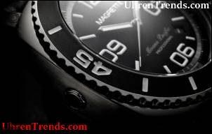 Magrette Moana Pacific Professionelle schwarze Uhr