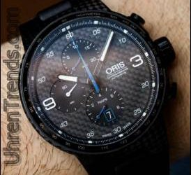 Oris Williams Chronograph Carbon Valtteri Bottas Limited Edition Uhr Hands-On