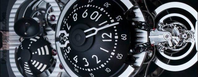 MB & F Sternenflotten Maschine Uhr von L'Epée Hands-On