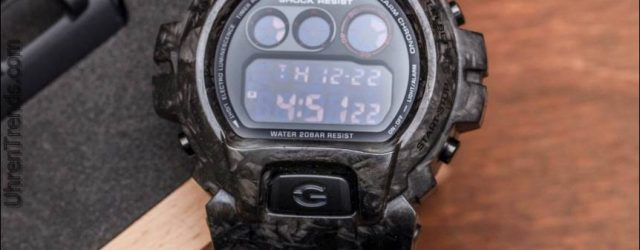 Casio G-Shock DW6900 mit geschmiedetem Carbon Armor Case von Alvarae Watch Review