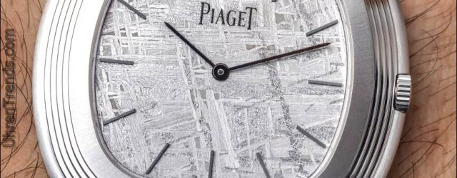 Piaget Vintage Inspiration Meteorit Dial Uhr Hands-On