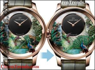 Jaquet Droz Tropische Vogel-Repetier-Uhr