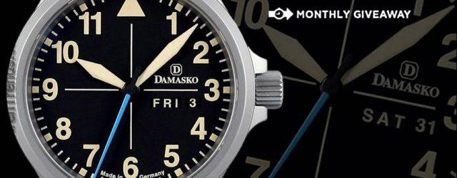 LETZTE CHANCE: Damasko Timeless DB1 Limited Edition Uhr Werbegeschenk