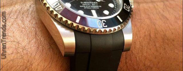 Überprüfung der RubberB Strap für Rolex Submariner und GMT Master II