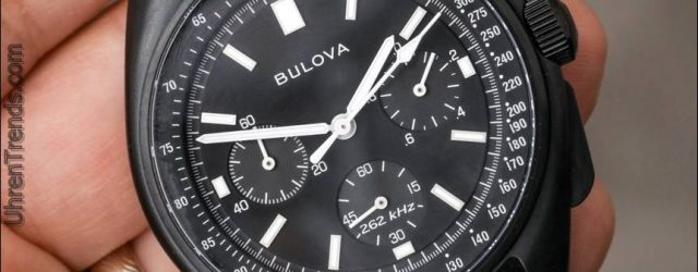 Bulova Monduhr Chronograph 98A186 Für 2017 Hands-On
