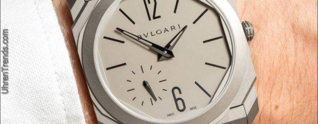 Rekord-dünne Bulgari Octo Finissimo automatische Uhr Hands-On