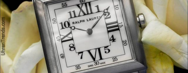 Ralph Lauren 35 mm 867 In Stahl Hands-On