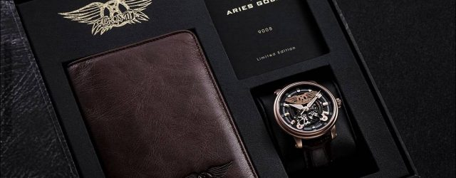 Widder Gold Aerosmith Limited Edition Uhr