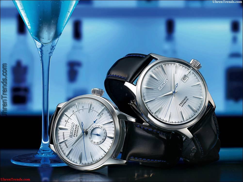 Seiko Presage SSA & SRPB 'Cocktail Time' Uhren für 2017
