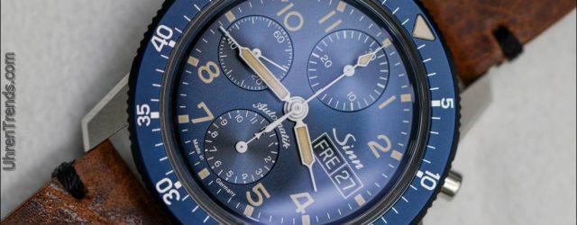 Sinn 103 Sa B E Pilot Chronograph zum Anfassen