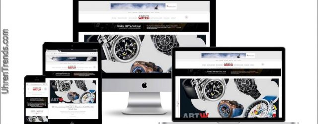 Begrüßung eines neuen aBlogtoWatch.com Website Design für 2018