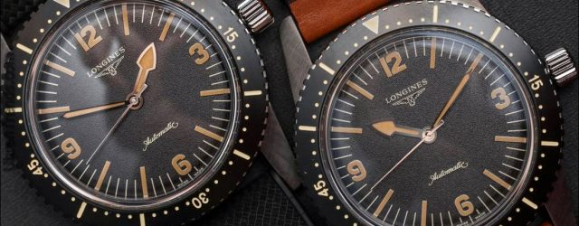 Longines Heritage Skin Diver Armbanduhr zum Anfassen