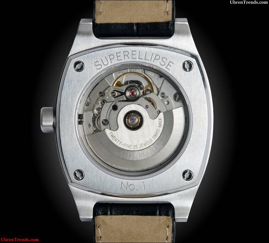 Jubileon Superellipse - Eine Swiss Made Automatikuhr in Singapur entworfen