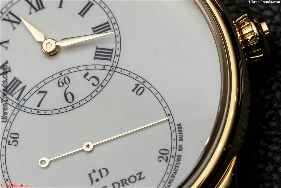 Jaquet Droz Grande Seconde Tribut Uhr Hands-On