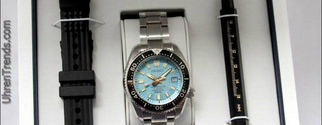 Seiko Marinemaster 300M SLA015 Limited Edition Uhr nur für Europa