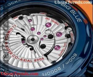 Omega Seamaster Planet Ocean 'Große blaue' GMT Uhr