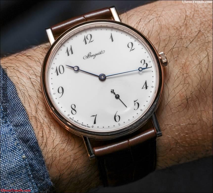 Breguet Classique 7147 'Grand Feu' Emaille Zifferblatt Uhr Hands-On