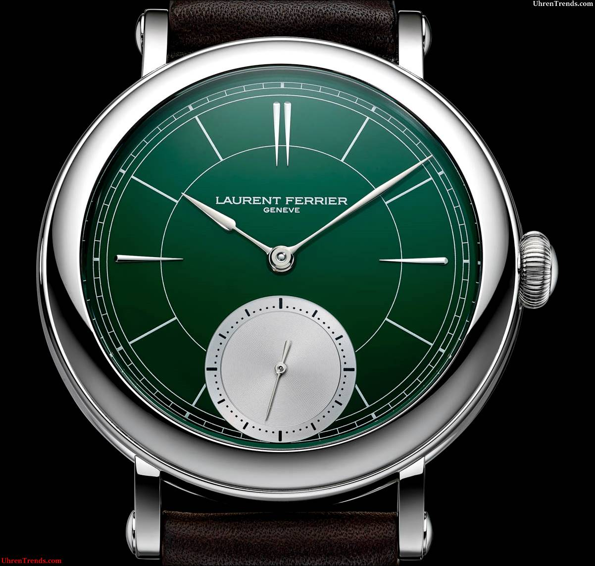 Laurent Ferrier Galet Mikrorotor Montre Ecole 'British Racing Green' Uhr