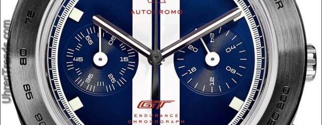 Autodromo Ford GT Endurance Chronograph Uhr & Ford Motor Co. Partnerschaft