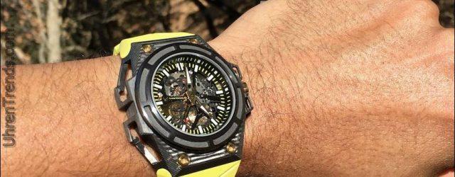 Linde Werdelin SpidoLite 3DTP Carbon Uhr Bewertung