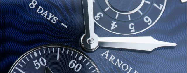 Arnold & Son Acht-Tage-Royal Navy Uhr Hands-On