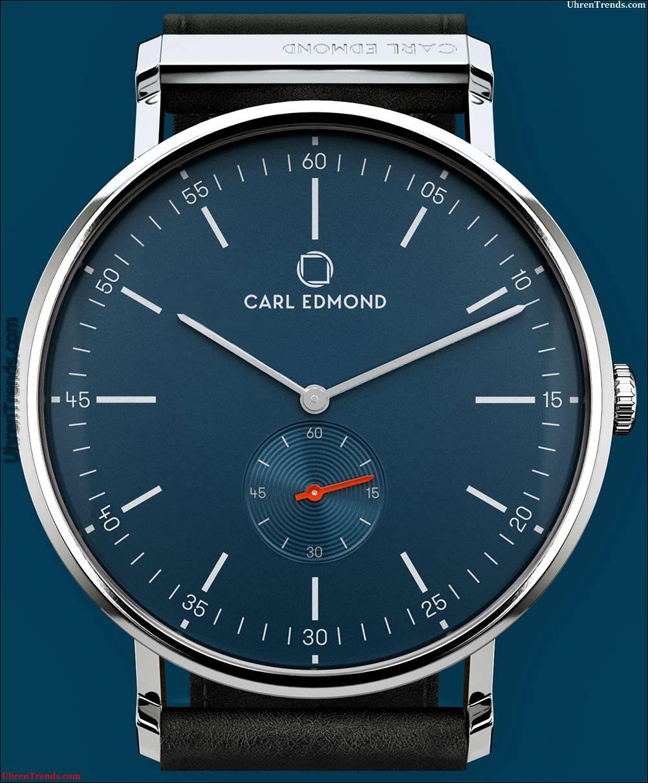 Carl Edmond Uhren entworfen von Eric Giroud & Adrian Glessing