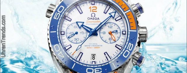 Omega Seamaster Planet Ocean 'Michael Phelps' Limited Edition Uhr
