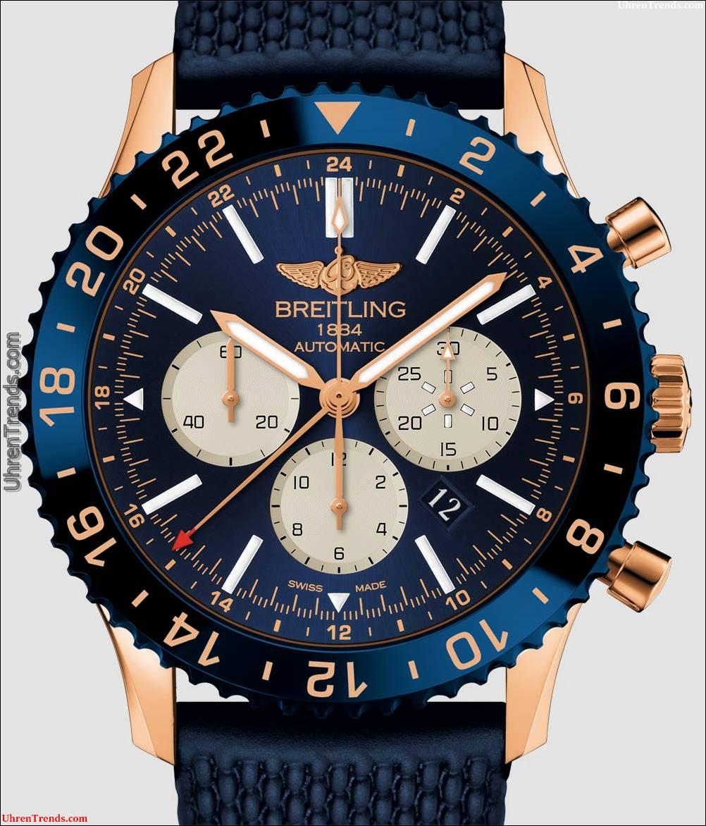Breitling Chronoliner B04 Uhr In Rotgold