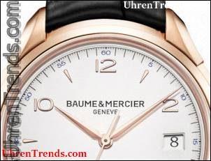 Baume & Mercier Clifton Handbuch 1830 Uhr