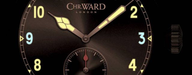 Christopher Ward C8 P7350 Chronometer Uhr Stille Auktion zu Ehren des englischen Gedenktages
