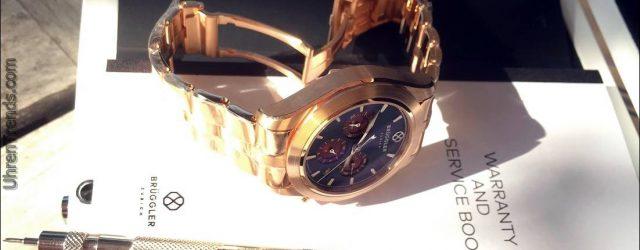Brüggler Anpassbare Chronograph Uhren