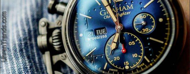 Graham Chronofighter Vintage Flugzeug Ltd. Uhr