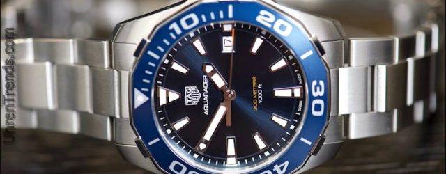 Neue TAG Heuer Aquaracer Black Titanium Uhren für 2016 Hands-On