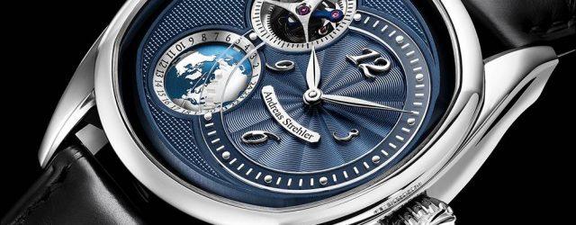 Andreas Strehler Sauterelle À Heure Mondiale Uhr