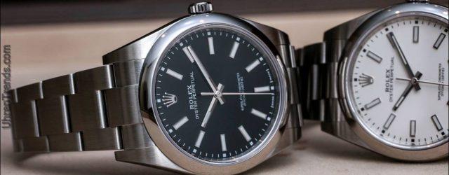 Rolex Oyster Perpetual 39 114300 Schwarz oder Weiß Zifferblatt Uhren Hands-On