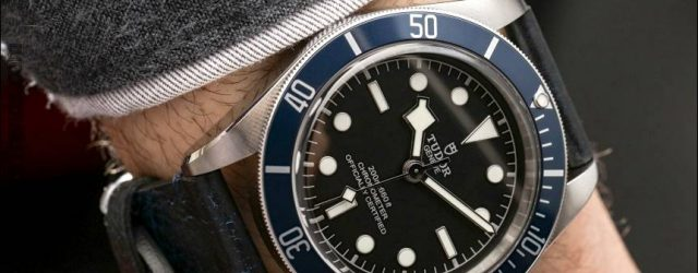 Tudor Heritage Black Bay Uhr mit In-House-Bewegung Hands-On