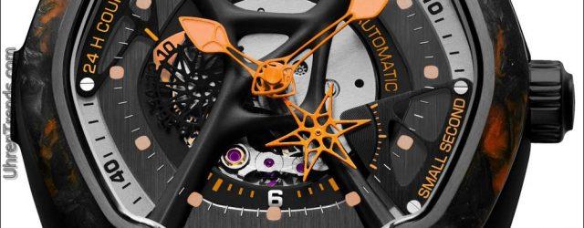 Dietrich O.Time Uhren mit bunten geschmiedeten Carbon-Einfassungen